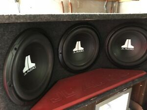 "Car Subwoofers Completed W/ 12"" Subs + Amp"