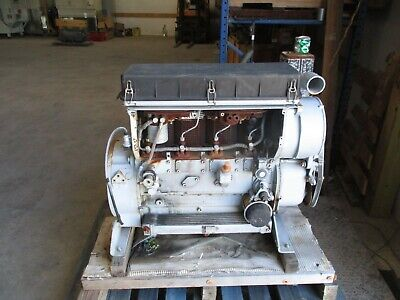 HATZ DIESEL ENGINE TYPE:4M40L 2600 RPM D-94099 4 CYLINDER #415317T USED