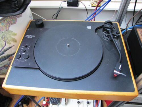 Sota Sapphire Turntable with Sumiko Premier Tone Arm. External Power Supply