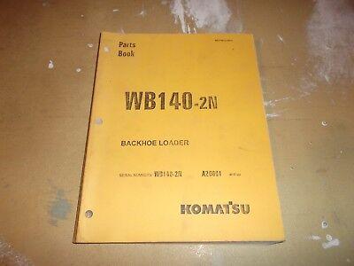 Komatsu Wb140-2n Backhoe Loader Parts Manual Catalog