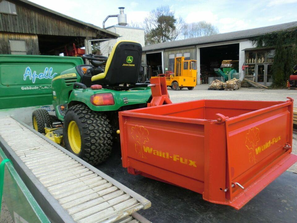 Kleine Kippmulde für Traktoren Landwirte Forstwirte Wald Forst in Kühbach