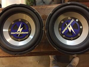 Subs and amp for sale