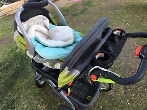 Winter Ready Stroller and Carseat