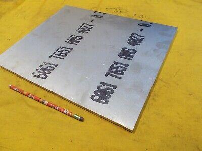 6061 Aluminum Flat Stock Tool Die Bar Sheet Plate 38 X 12 X 14 34 Oal