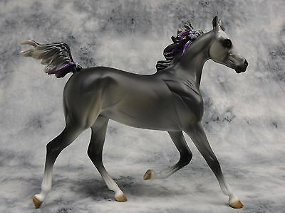 Peter Stone * My Violet * 1 of 10 Grey Arabian Yearling Traditional Model Horse