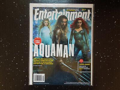 Aquaman Kidman, Momoa, Heard - Entertainment Weekly 1519 - $4.99