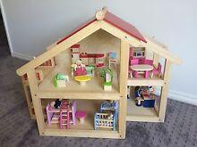 DOLLHOUSE great for boys and girls  -Wooden dolls House - Pintoy Marmion Joondalup Area Preview