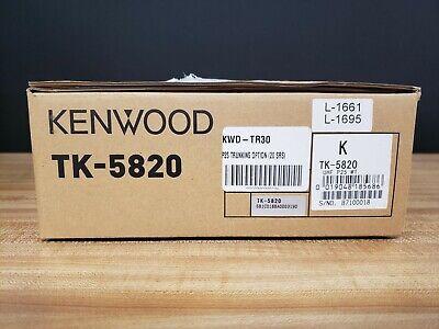 Kenwood Tk-5820k Uhf P25 Mobile Radio Digital 450-520 Mhz Brand New In Box