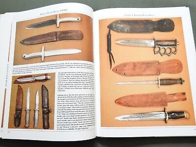"""THEATER MADE MILITARY KNIVES OF WW2"" US CUSTOM DIRK DAGGER BOWIE REFERENCE BOOK for sale  Claremont"