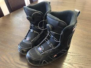 Head snowboard boots, youth size 6/7