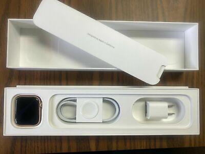 Apple Watch Series 5 44mm Gold Aluminum Case Pink Sand Sport Band GPS MWVE2LL/A