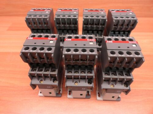 *LOT OF 7* ABB N44E RELAY CONTACTOR