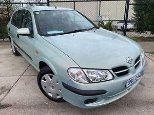 2002 Nissan Pulsar ST Auto Hatch REGO AND RWC INCL Moorabbin Kingston Area Preview