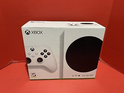 Microsoft Xbox Series S 512GB Video Game Console - White New ***FREE SHIPPING***