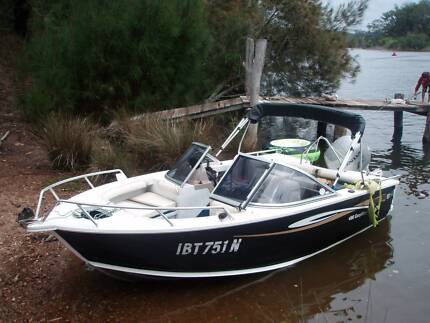 STACER 480 Easy Rider + 75hp Honda fourstroke Thirroul Wollongong Area Preview