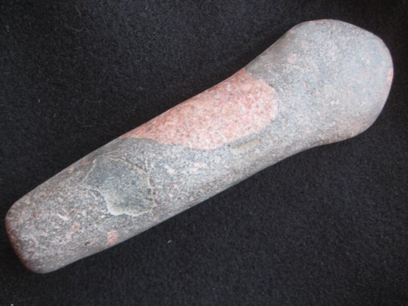 NATIVE AMERICAN  STONE SPUD, NORTHERN PLAINS INDIAN AXE HEAD....PORT-624