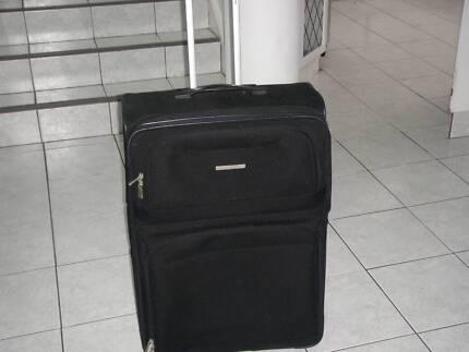 Large Black Samsonite Suitcase - Gr Pre Loved Cond