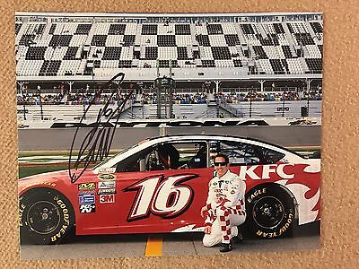 Greg Biffle Signed Daytona 8x10 Photo COA NASCAR Autograph