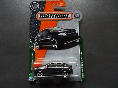 Matchbox Mercedes-Benz GLE Coupe in grey - 2017 release on Long Card - SEALED