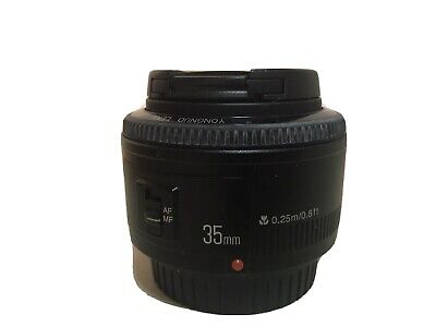 Yongnuo EF 35mm F2 Wide-Angle Fixed AF MF Lens for Canon EOS Camera