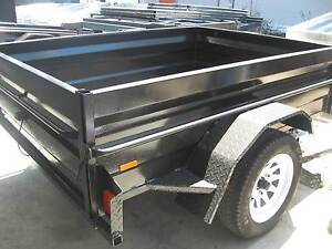 NEW TRAILER 7X4  HEAVY DUTY CHECKER PLATE. Blue Haven Wyong Area Preview