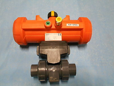 George Fischer Pneumatic Actuator Pa21 Fc Bv Womo Pvcfpm