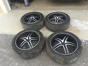 20 Inch Fuel Rims 5x4.5 5x114.3 Bolt Pattern