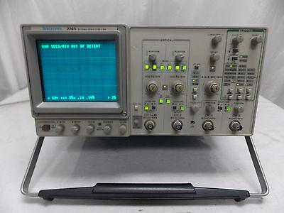 Tektronix 2245 100 Mhz Oscilloscope W Cal Sticker 92916 To 92817