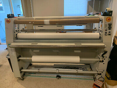 Gbc 60 Falcon F-60 Hot Cold Laminator Great For Large Format Printers