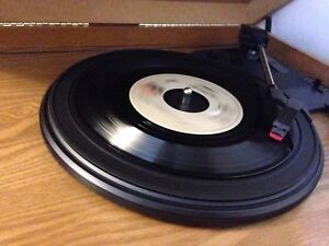 Vintage wood record player/turntable