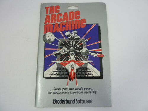 The Arcade Machine by Broderbund Software Apple II II+ - Instruction Manual ONLY