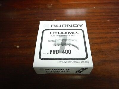 Burndy Hycrimp Yhd-400 Compression Tap Connector