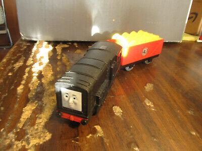 "Trackmaster Thomas & Friends ""DIESEL"" 2010 Motorized Train - runs, but no talk"