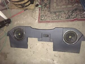 custom fit 2008 dodge 1500 sub box with subs