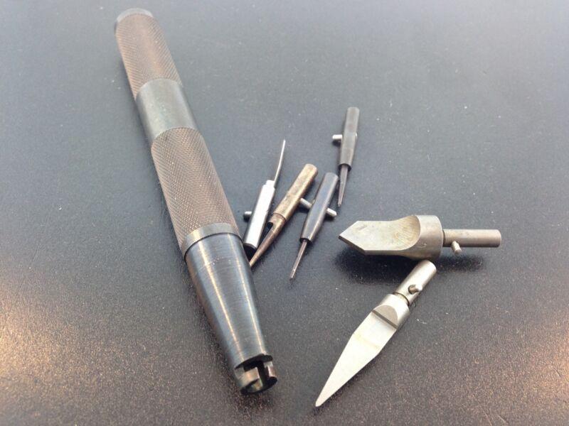 Clock Repair Hand Reamer Set for the KWM Bushing System