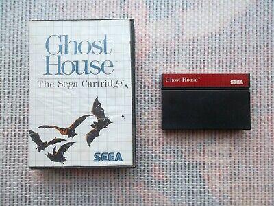 Jeu Master System / Ms Game Ghost House + boite PAL retrogaming SEGA original*