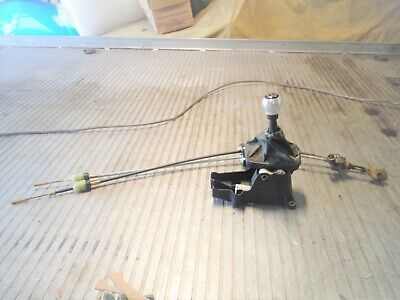 ASTRA MK4 GSI Z20LET F23 GEAR SELECTOR UNIT & CABLES, 5-SPEED. ALLOY KNOB