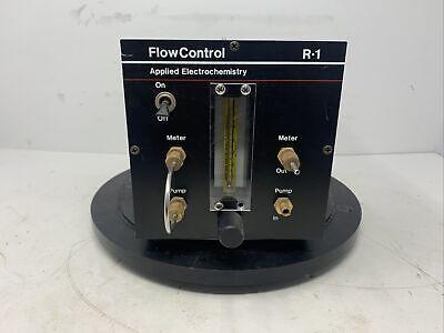 R-1 Flow Control For Oxygen Analyzer Applied Electrochemistry Mw0