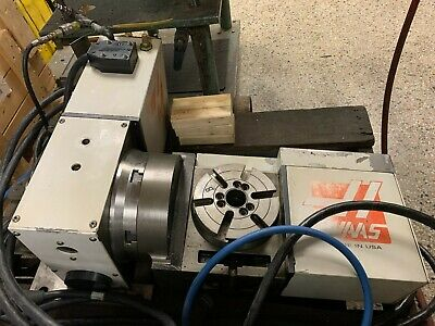 Haas Trt-160 2-axis Rotary Table Indexer 6.3 Dia 4th 5th Axis