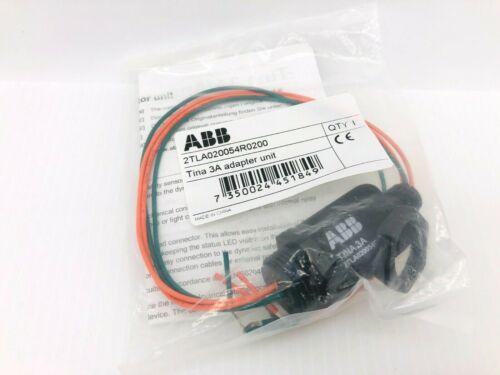 New ABB 2TLA020054R0200 Jokab Safety Relay Tina 3A Adapter