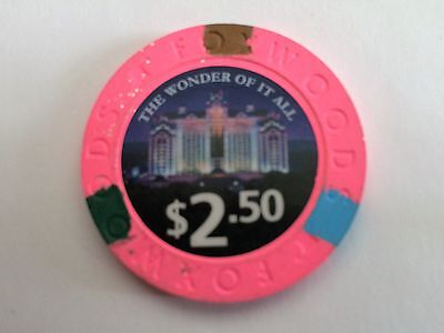 $2.50 Foxwoods Casino Poker Chip 2016