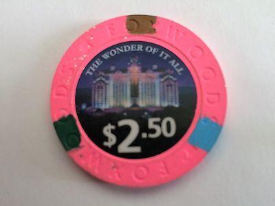 $2.50 Foxwoods Casino Poker Chip 2016 {new style}