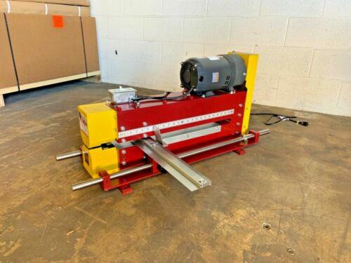 New Morlin 16 Gauge Single Wheel Sheet Metal Slitter (Wilder, Lockformer)