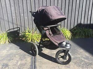 Baby Jogger Cite Elite Stroller (Black) + Extras, Great Condition Hampton Bayside Area Preview