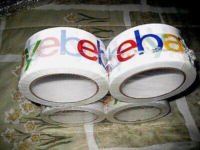 Ebay Packing Tape 4 Rolls 2 X 75 Yards Ebay Logo Brand New Sealed