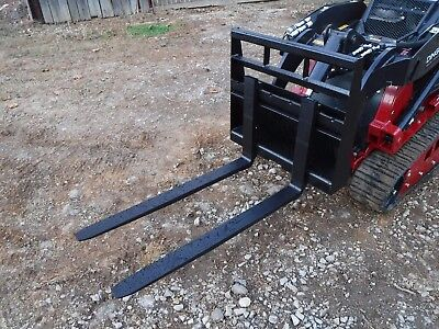 Toro Dingo Mini Skid Steer Attachment New 42 Pallet Forks - Ship For 149