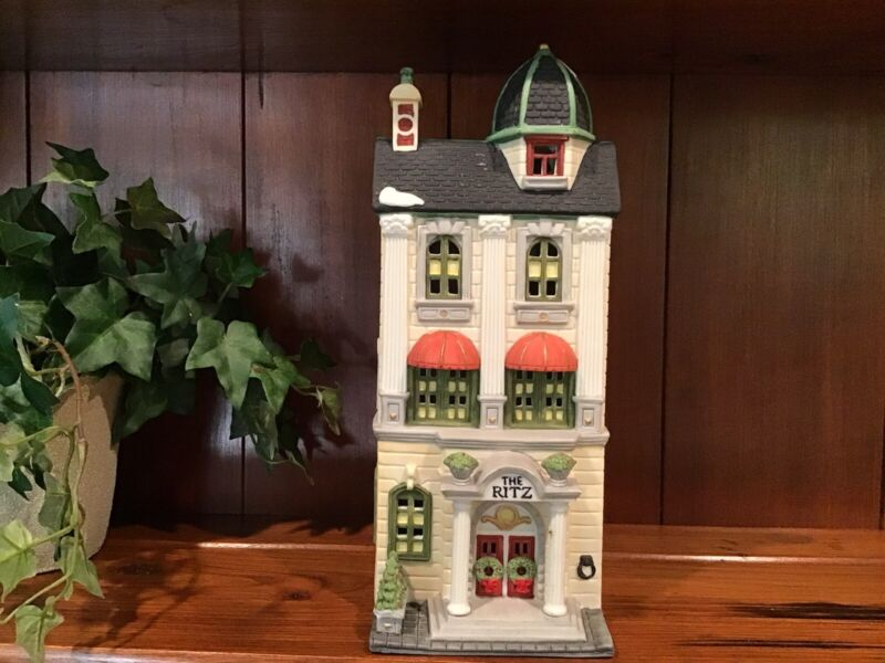 Dept 56  RITZ HOTEL Christmas In The City  #5973-0