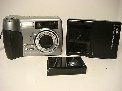 Kodak EasyShare DX7440 4.0MP Digital Camera - Silver w/ Battery & Charger Dx7440 Digital Camera