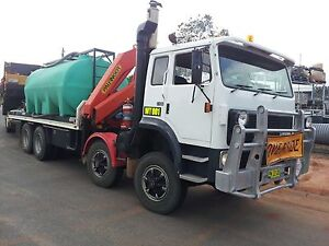 International Acco T2700 Twin steer table top Crane truck Forster Great Lakes Area Preview