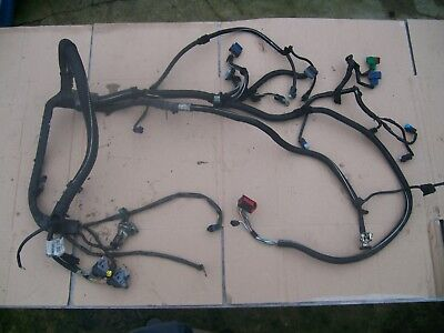 PEUGEOT 206 ENGINE BAY WIRING LOOM PLUGS BATTERY CABLE OFF 2005 YEAR 9660640480